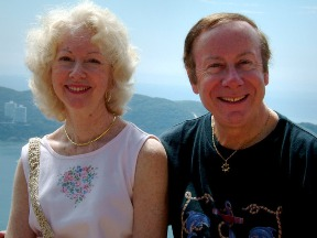 Courtesy photo.  Geraldine and John Magee on a recent trip.  12/15/11