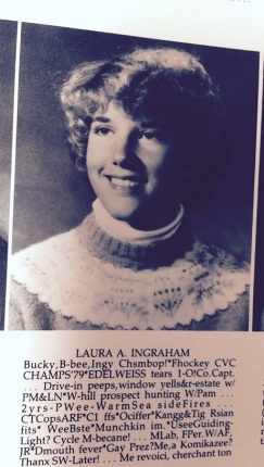 lauraingraham high school photo