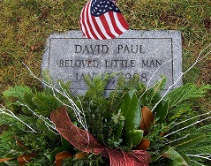 Gravemarker for Unidentified Infant found on January 2, 1988 in Meriden, CT