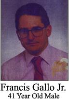 Francis Gallo Jr Murder Victim