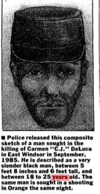 cj deluca murder suspect sketch