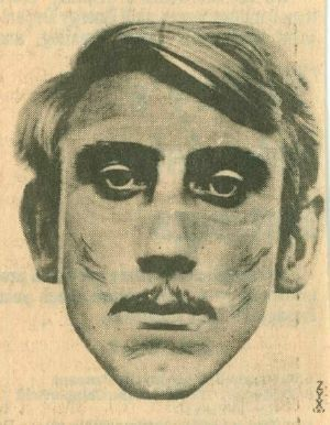 Composite Sketch of Suspect in Murder of Anthonina Raibikis Wolcott, CT 1979