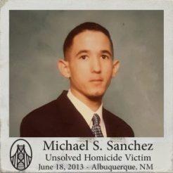 Michael Sanchez - Murder Victim New Mexico